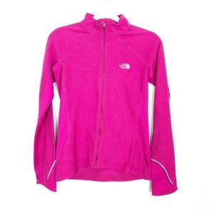 The North Face Pink Size Small Running Zip Up